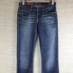 """AG Adriano Goldschmid """"The Angel"""" Flare Jeans 25R"""